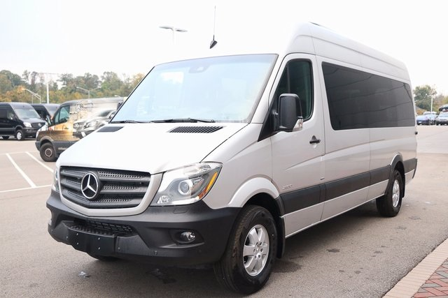 new 2016 mercedes benz sprinter 2500 passenger van passenger van in fort mitchell g124498. Black Bedroom Furniture Sets. Home Design Ideas